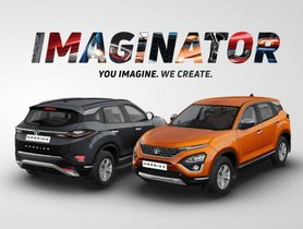 Tata Harrier Black Colour Appears On Official Website Via Imaginator