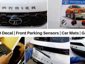 Tata Harrier Looks Amazing With The Special Accessories Package [Video]