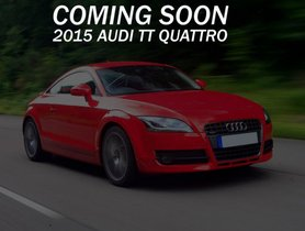 Well-kept 2015 Audi TT for sale