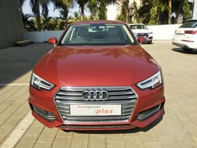Used Audi A4 2018 car at low price