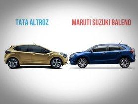 Tata Altroz vs Maruti Suzuki Baleno - Spec Comparison