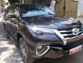 Used Toyota Fortuner car at low price in Bangalore