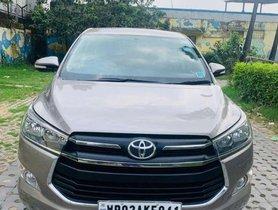 Used Toyota Innova Crysta 2016 car at low price