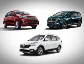 Maruti Ertiga vs Mahindra Marazzo vs Renault Lodgy: Which MPV Is The Best Option For You?