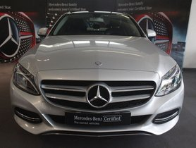 Used Mercedes Benz C Class 220 CDI AT 2015 for sale