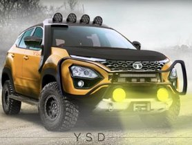 Tata Harrier Off-Road Version Looks Stunning In This Rendering