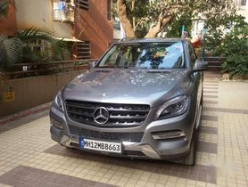 Used Mercedes Benz M Class car 2015 for sale at low price