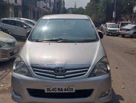 Toyota Innova 2.5 VX 7 STR 2010 for sale