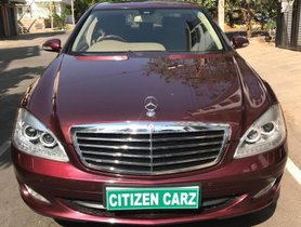 Used 2009 Mercedes Benz S Class car at low price