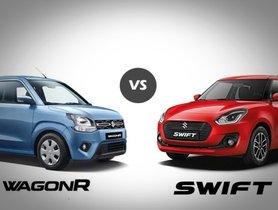 Maruti Suzuki Wagon R vs Maruti Suzuki Swift – A thorough comparison