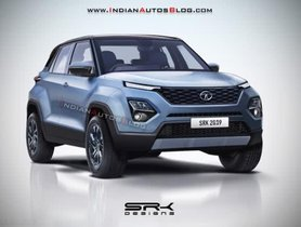 Tata X445 (Production Model Of Tata H2X) Looks Good In The Latest Rendering