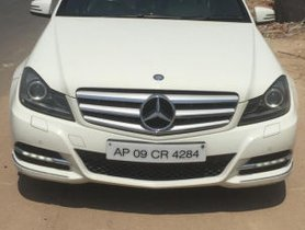 Used Mercedes Benz C Class 220 CDI AT 2012 for sale