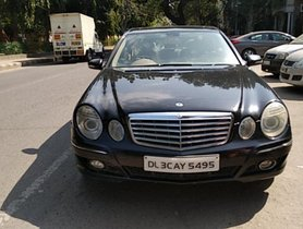 Used 2009 Mercedes Benz E Class for sale