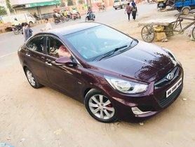 Used Hyundai Fluidic Verna car 2014 for sale  at low price