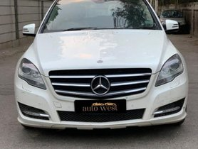 Used Mercedes Benz R Class car at low price