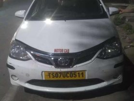 Used Toyota Etios car 2015 for sale at low price