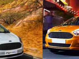 2019 Ford Figo vs Old Model - Here Are The Changes