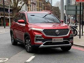 MG Hector Spotted Underguised Ahead Of Official Premiere