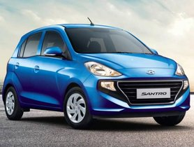 New Hyundai Santro Receives Its First Official Discount Offer