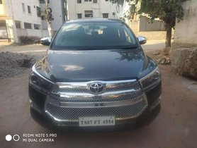 Used Toyota Innova Crysta car 2017 for sale at low price