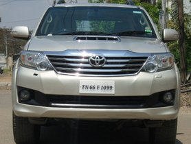 Used Toyota Fortuner 4x4 MT 2012 for sale