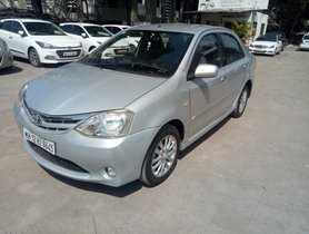 Used 2012 Toyota Platinum Etios car at low price