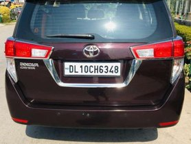2017 Toyota Innova Crysta for sale at low price
