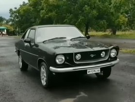 Hindustan Contessa Skillfully Resto-Modded Into A Ford Mustang [Video]