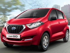 2019 Datsun redi-Go Silently Launched With Extended Feature List