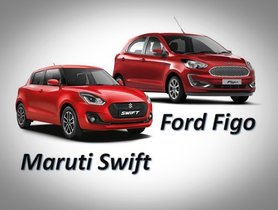 2019 Ford Figo vs Maruti Swift: Specifications and Price Comparison
