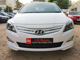 Hyundai Verna 1.6 CRDI SX Option 2016 for sale