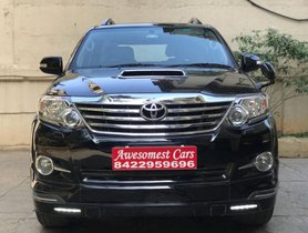 Used Toyota Fortuner car at low price