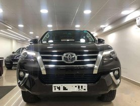Used Toyota Fortuner car 2016 for sale at low price