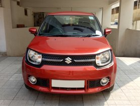 Used Maruti Suzuki Ignis car at low price