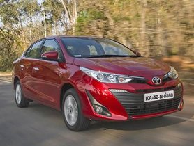 Toyota Yaris Is Being Offered With Discount Of Up To INR 1.34 Lakh