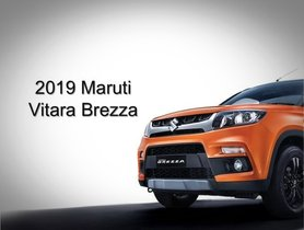 2019 Maruti Vitara Brezza 1.5L Diesel Production Commences