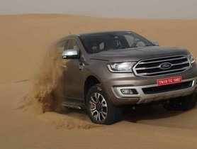 2019 Ford Endeavour facelift: First Drive Review