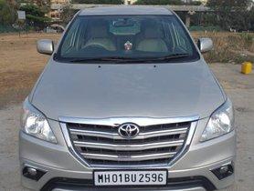 Used 2014 Toyota Innova car at low price