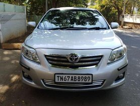 Toyota Corolla Altis 1.8 G 2009 for sale