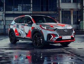 Hyundai Creates A Beautiful Art Car To Honour The Tucson N Line