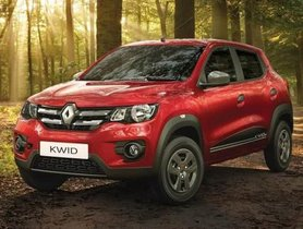 Renault Kwid To Get A 3% Price Hike From Next Month