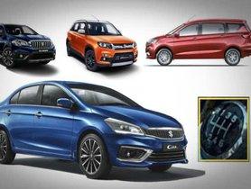 Maruti Ciaz, Ertiga, S-Cross And Vitara Brezza To Come With New 1.5L Diesel Motor