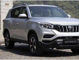 2018 Mahindra Alturas G4 for sale at low price