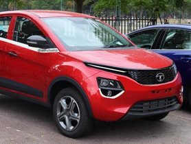 Here is a Tata Nexon that wants to look like the Harrier