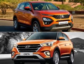Tata Harrier Vs Hyundai Creta - Which Compact SUV Is Quicker?