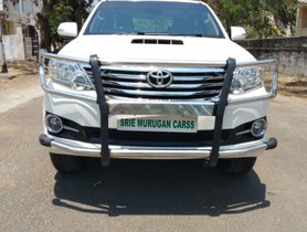 Used Toyota Fortuner 2015 car at low price