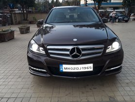 Used Mercedes Benz C Class car at low price