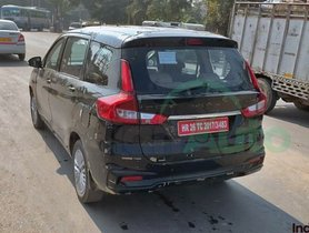 2019 Maruti Ertiga 1.5-litre Diesel Spotted Undergoing Road Tests - SPIED!