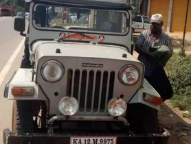 Used Mahindra Jeep car 1997 for sale  at low price