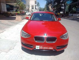 Used BMW 1 Series car 2015 at low price